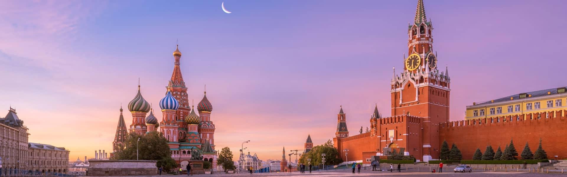 Visum Russland-Moskau-Roter Platz-Kremel
