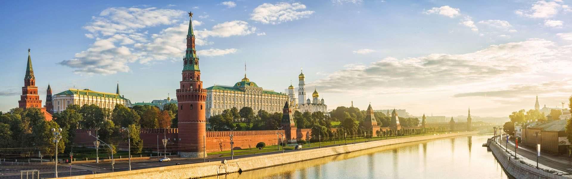 Visum Russland-Moscow-Moskau